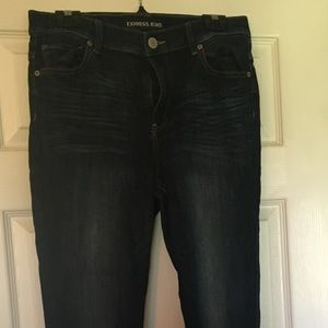 Express High Rise Jeggings